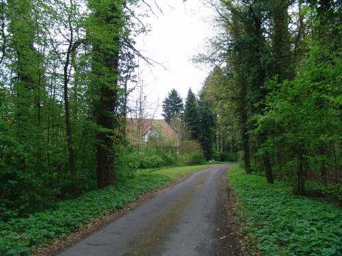 Der Weg zum Forsthaus