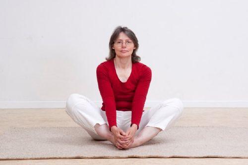 Yogalehrerin Elisabeth Hafner-Reckers