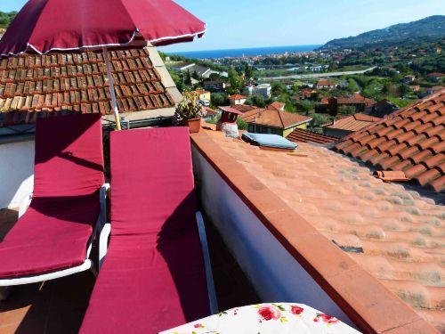 Casa Panorama Terrasse mit Meerblick