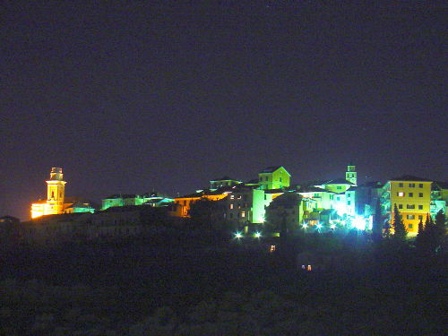 Casa Panorama blick auf Castello
