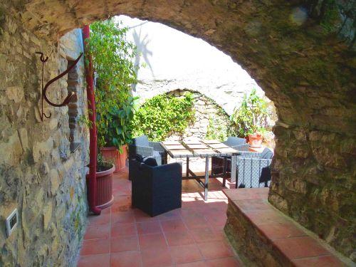 Casa Panorama Garten mit Salotto