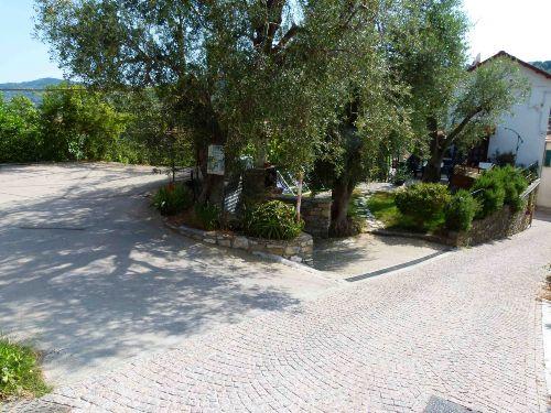 Eingang Privatparkplatz - Garage