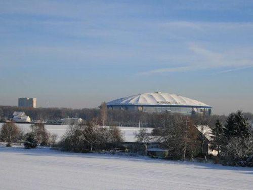 Aussicht Winter Schalke Zimmer
