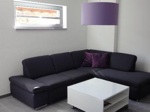 Wohnbereich/ Couch mit Ausziehfunktion
