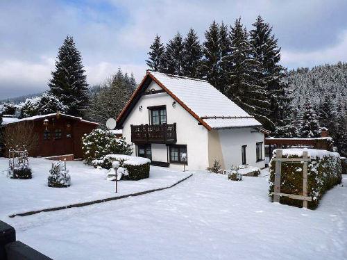 Ferienhaus Roco, Winteransicht