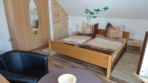 Wohn-Schlafzimmer obere Etage