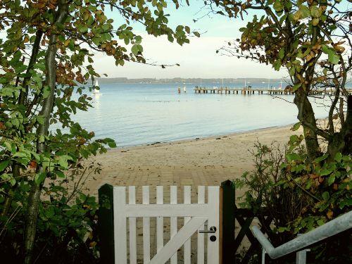 Gartenpforte zum Strand (Sommernutzung)