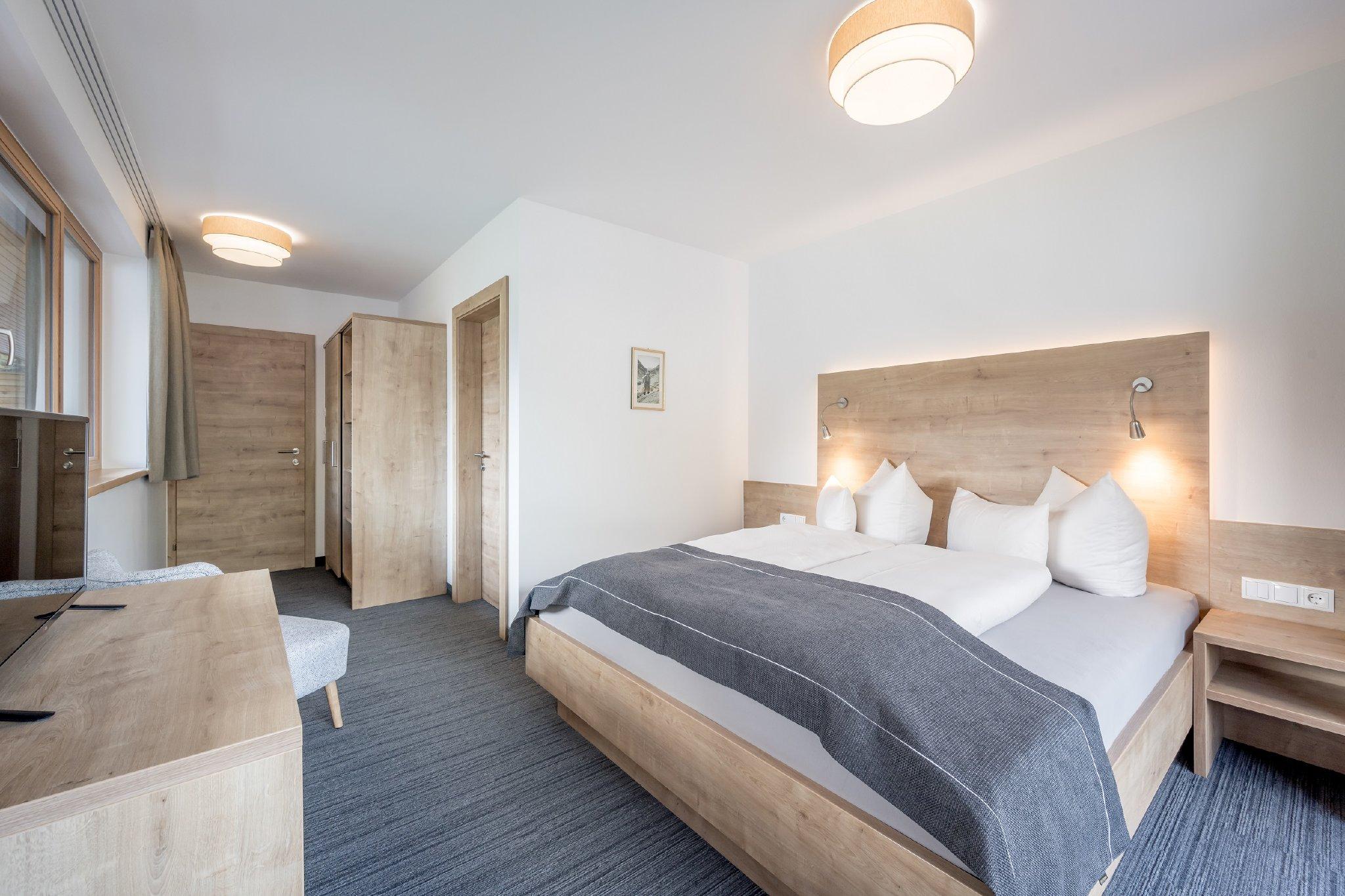 Schlafzimmer mit eigenen Wohlfühlbad
