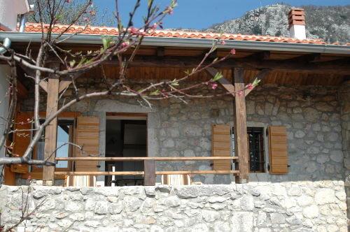 Balkon und Eingang in Ihr Gemach