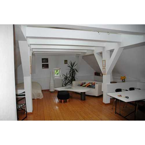 Wohnbereich mit zusätzlichem Gästebett
