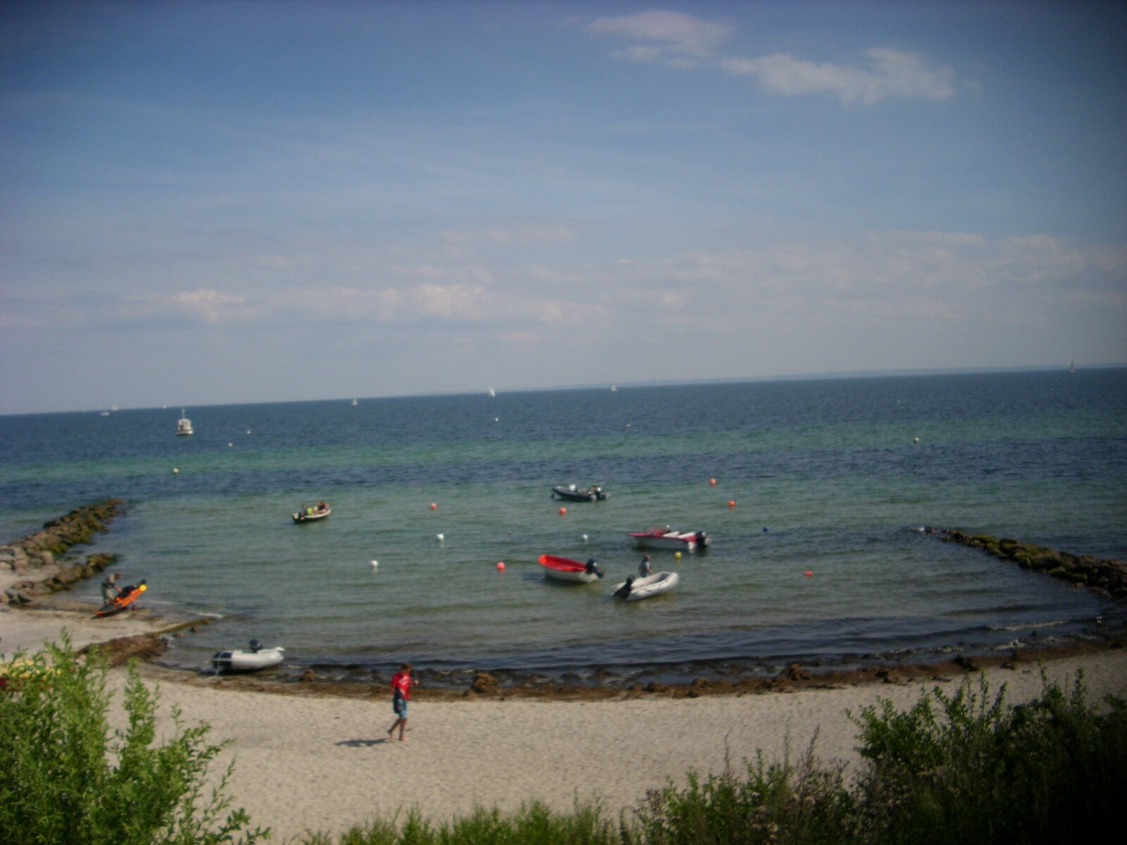 Naturstrand in Bliesdorf