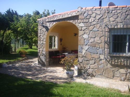 Offene Terrasse Hobbithaus