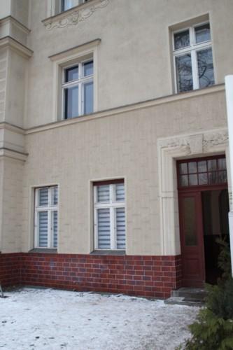 Hauseingang zur Fewo, Waldstr.88
