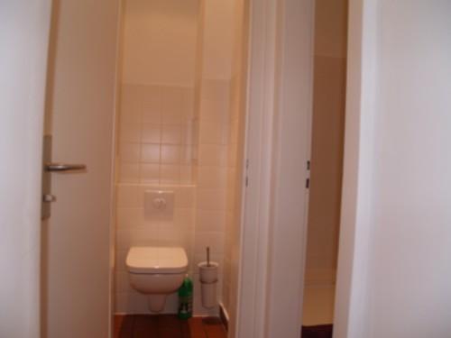 Wc und Dusche - getrennt