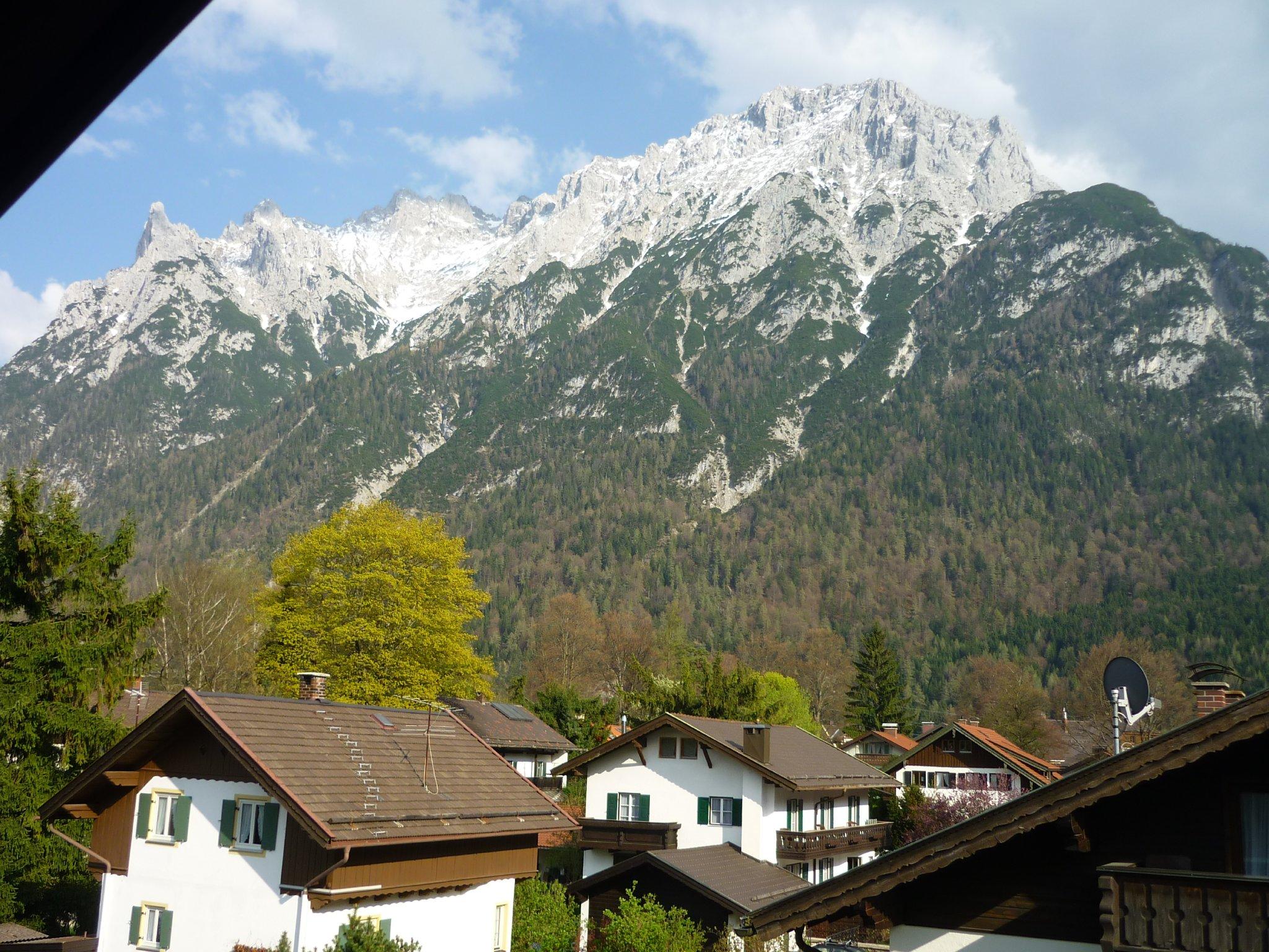 Aussich von Ihrem Balkon