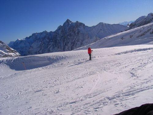 Skifahren auf der Zugspitze ein Genuss