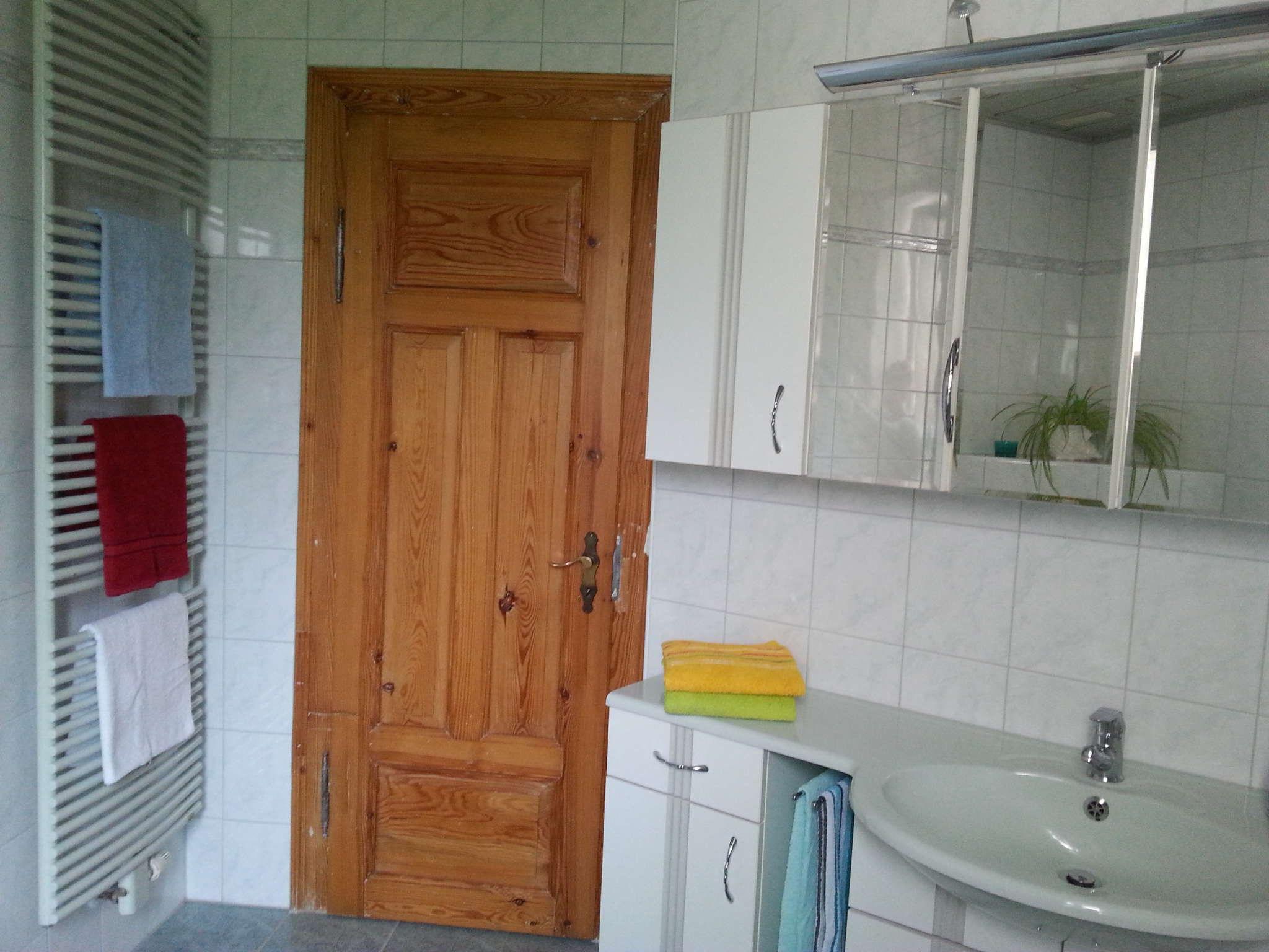 Die Badezimmereinrichtung