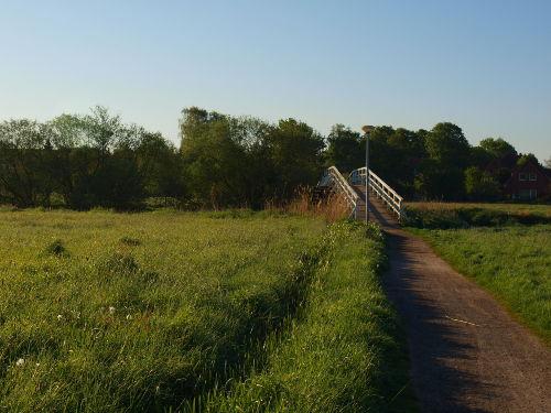 Schwingewiesen mit Kramerbrücke