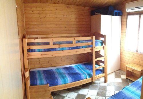 Schlafzimmer 2 Chalet Toskana