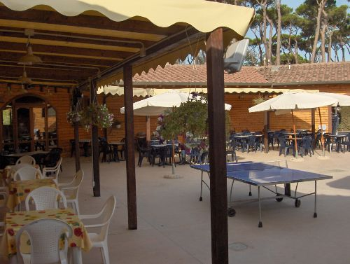 Restaurant Campingplatz Paradiso