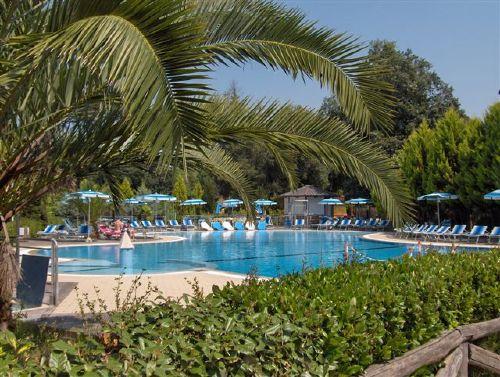 Pool Campingplatz Paradiso Viareggio