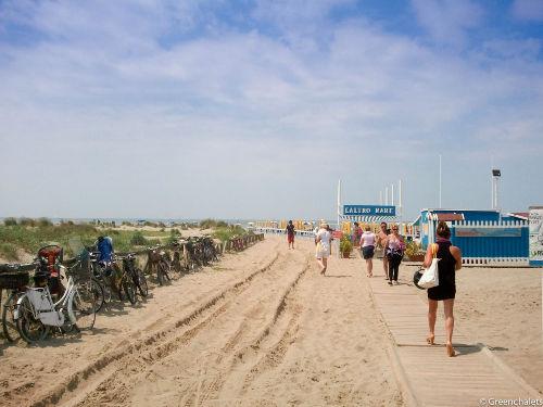 Strand Campingplatz Viareggio