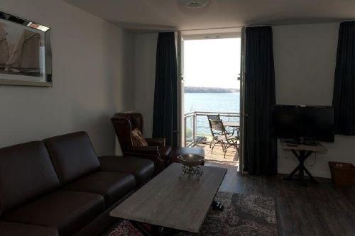 Der Wohnbereich mit Panoramablick!