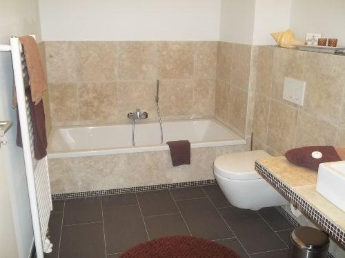 Die Badewanne zum Relaxen...