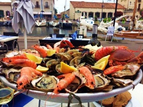Fischrestaurant in Marseillan