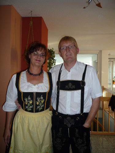 Wir, auf dem Weg zum Oktoberfest ;-)