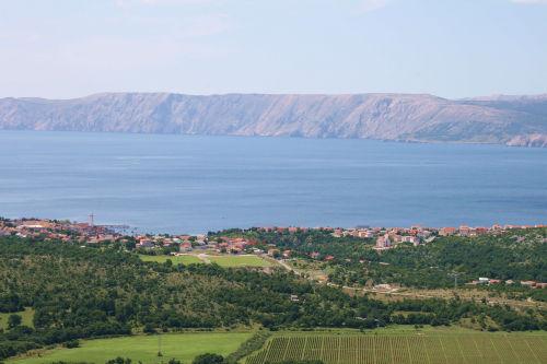 Ausblick auf das Vinodol-Tal
