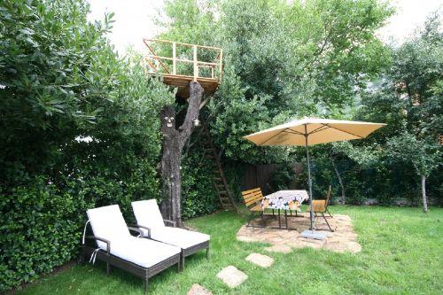 gepflegt naturbelass.Garten mit TreeTop