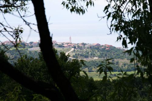 Ausblick vom TreeTop auf Novi Vinodolski