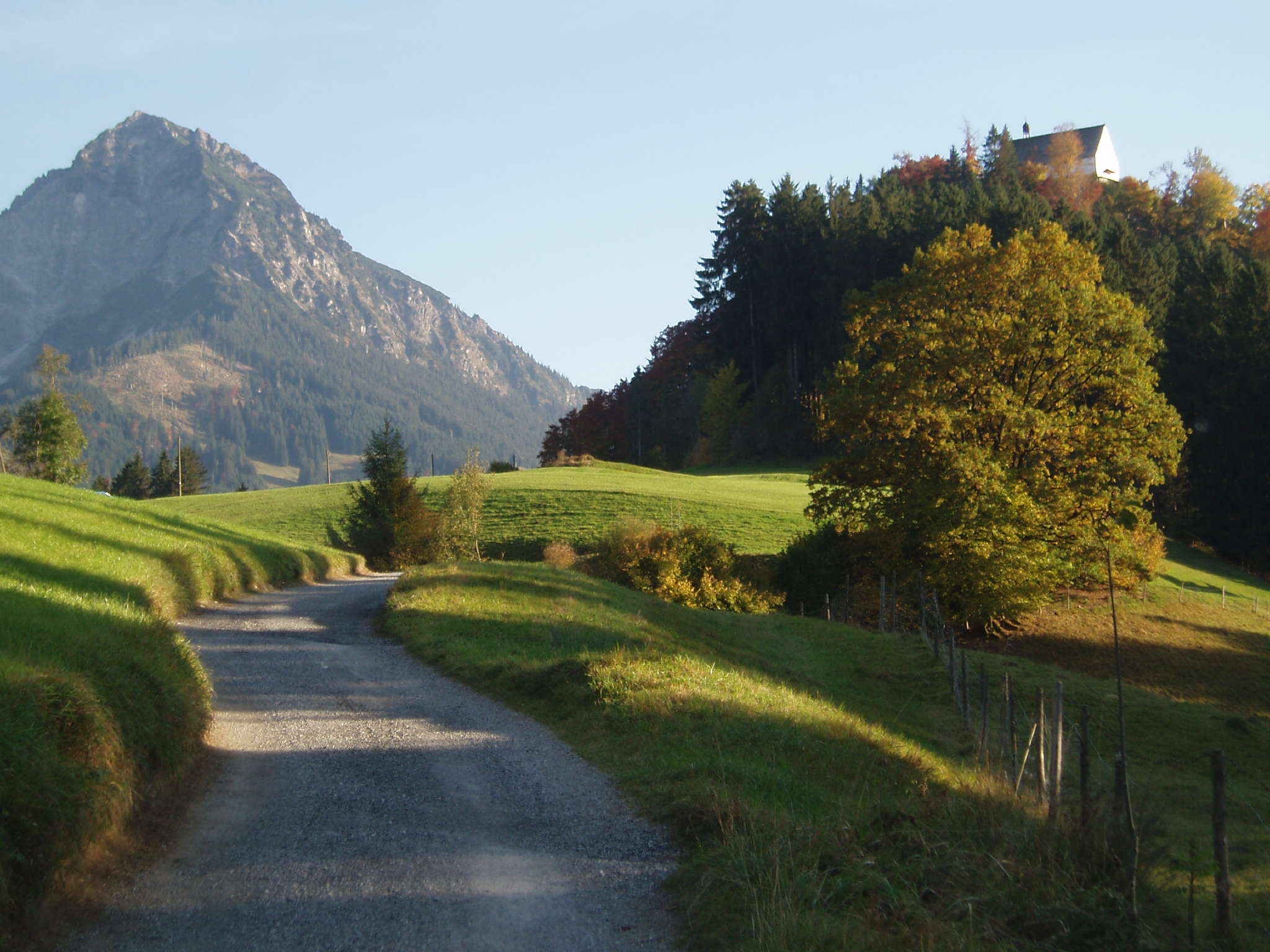 Wanderweg zur Schöllanger Burg
