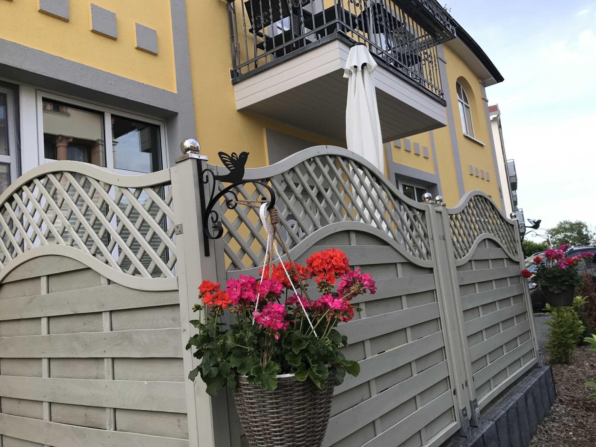 Blick vom Haus auf die Ostsee