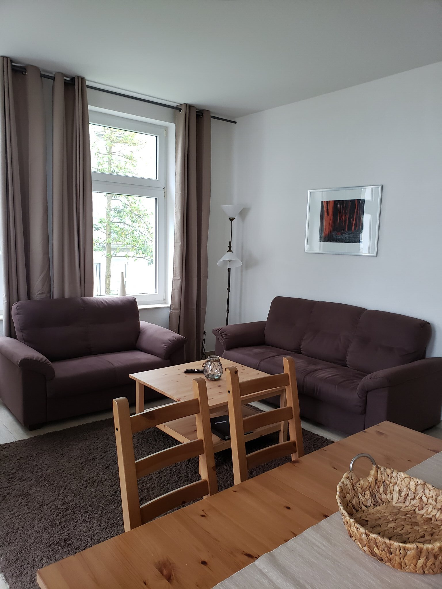 Wohnzimmer und Sitzbereich