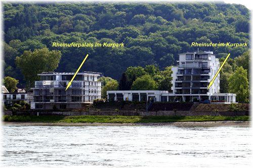 Rheinuferpalais im Kurpark von Breisig