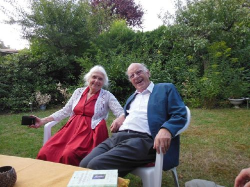 Herr und Frau Dr. v. Albrecht