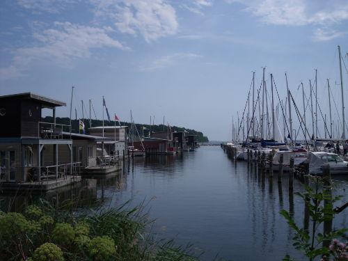 Am Hafen in Lauterbach