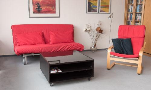 Sofa für die 3. Person zum schlafen