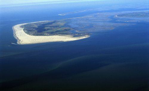 Die Insel aus der Luft