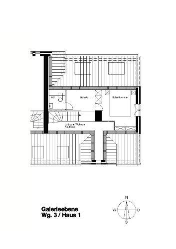 Grundriss Galerieebene