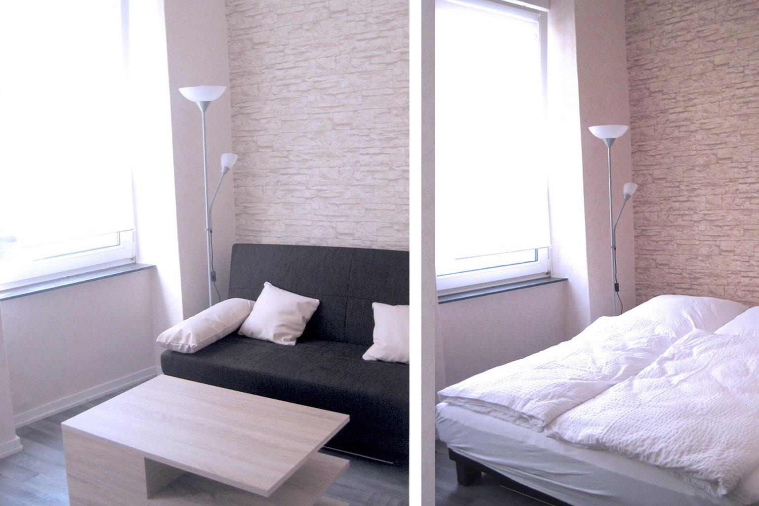 1. Etage, Wohn- und Schlafzimmer