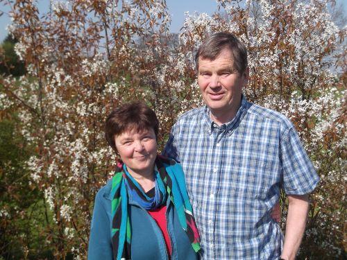Die Gastgeber: Christa und Heiner
