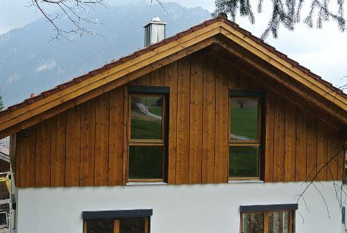Haus Westansicht