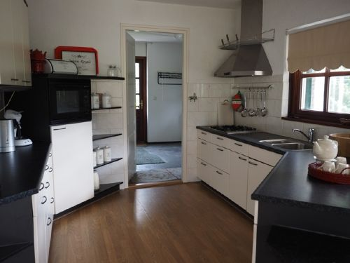 Küche, Scheune, Wasmachine