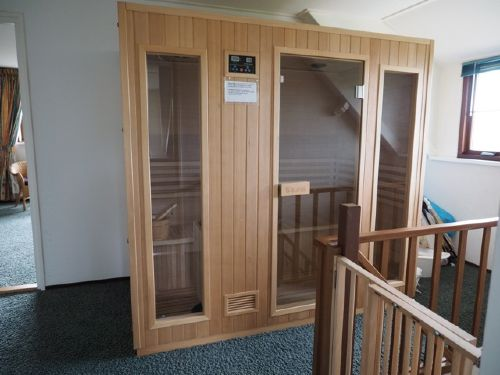Finnische Sauna für Vier