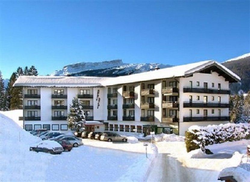 Hotel im Winter,App. 2.Etg. ganz rechts