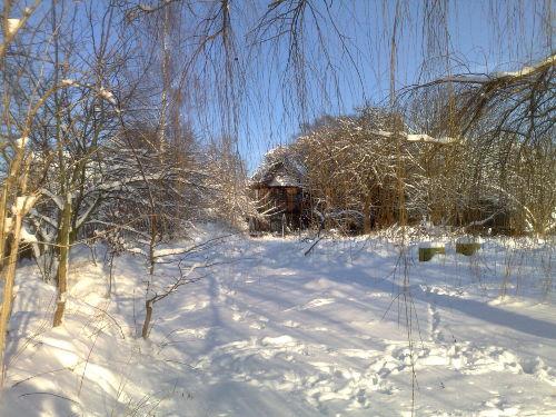 Winter 2011 Fachwerkhof Gödringen Süden