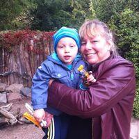 Vermieter: Frau Stähler mit Enkelkind